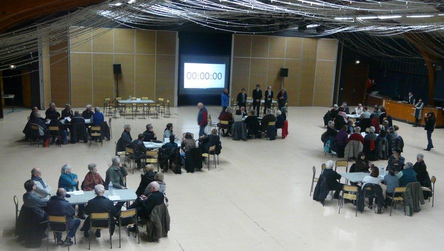 Un grand moment de démocratie participativece jeudi à la salle des fêtes.