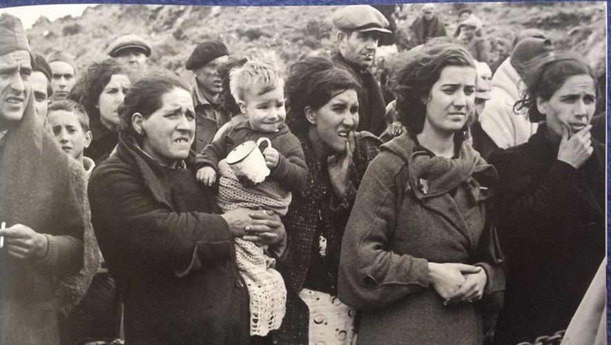 Les familles ont été séparées au passage de la frontière.
