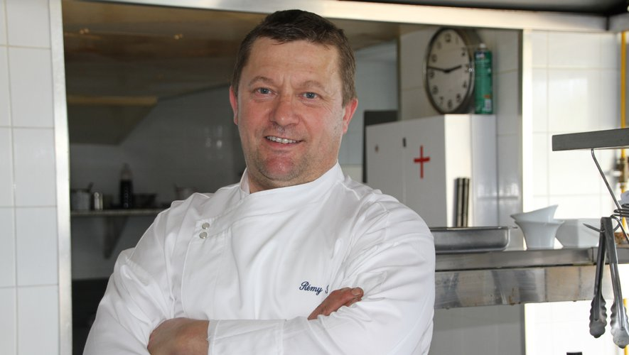 Le chef Rémy Simon est dans les starting-blocks.