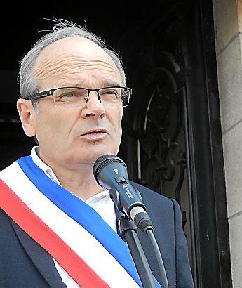 François Marty, maire de Decazevillle.