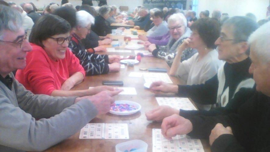 Les joueurs étaient venus très nombreux tenter leur chance.