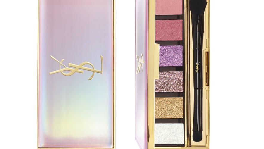 "La ""Shimmer Rush All-Over Palette"" d'Yves Saint Laurent Beauté."