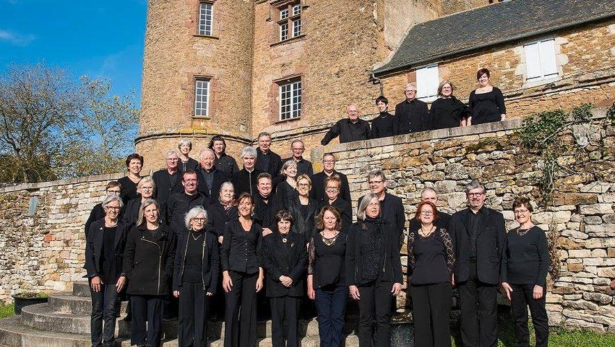 Deux chorales pour l'association Rouergue Androna