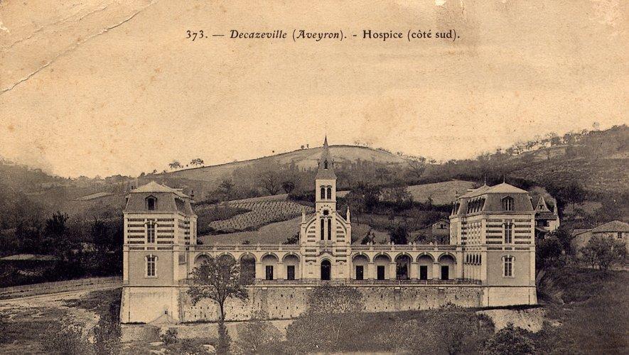 L'hospice de Trépalou qui est devenu l'hôpital de Decazeville.