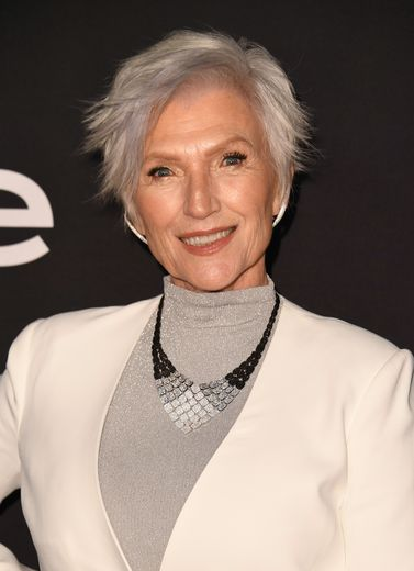 La Canadienne Maye Musk lors de la 4ème édition des InStyle Awards at The Getty Center à Los Angeles, le 22 octobre 2018