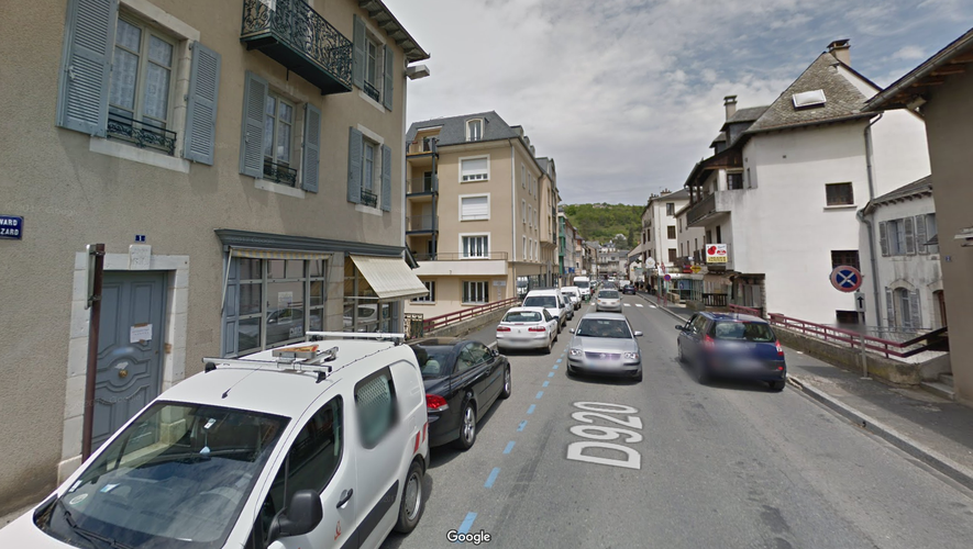 Les faits se sont déroulés boulevard de Guizard, à Espalion.