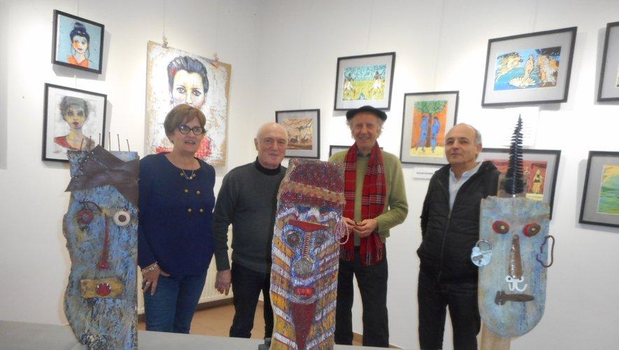 Les quatre artistes du Bassin vous attendent espace Ségalat.