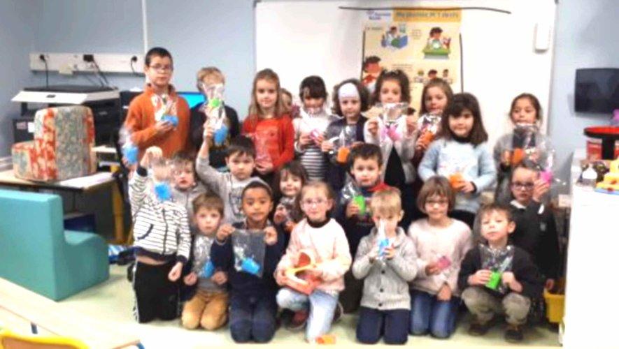 A l' école des Marmousets, les GS et les CP découvre la santé bucco-dentaire