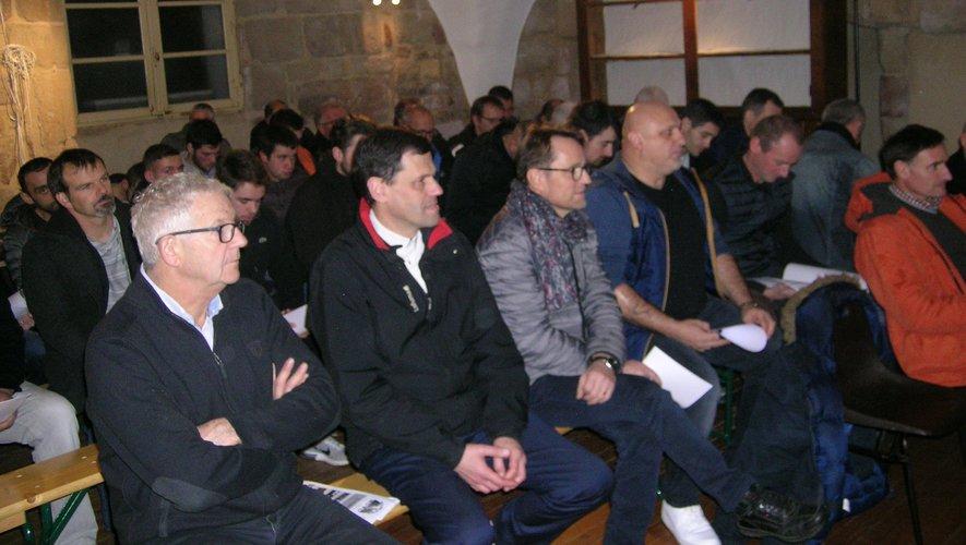 Les adhérents étaient venus en nombre à cette traditionnelle assemblée générale.