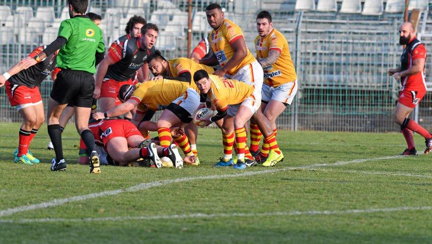 A l'aller, les Ruthénois  avaient été sévèrement battus 46-5 dans la Drôme.