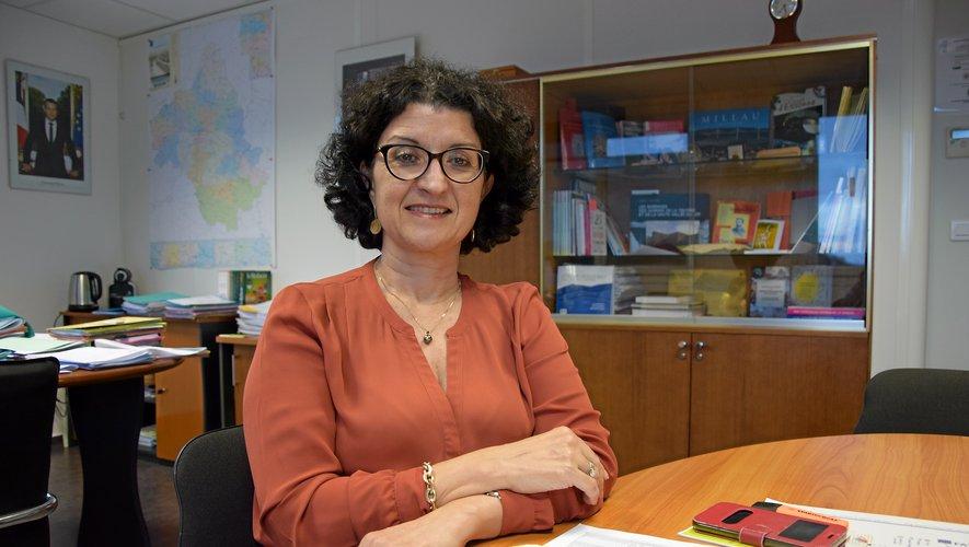 Armelle Fellahi, directrice académique des services de l'éducation nationale, porte un regard bienveillant sur l'école aveyronnaise.