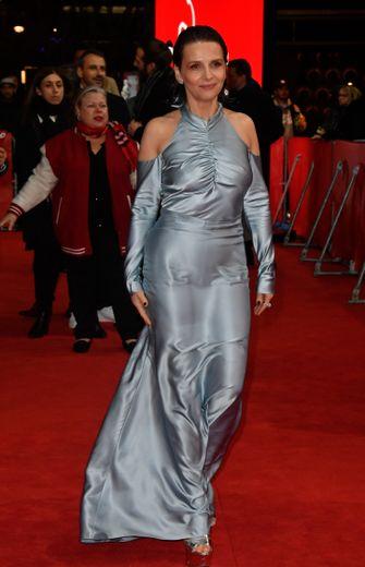 Juliette Binoche à la Berlinale, le 10 février, 2019