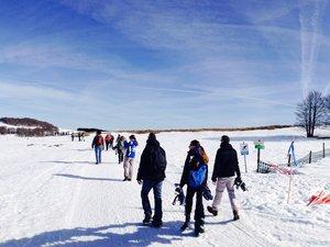 Une journée au grand air pour profiter de la neige et des magnifiques paysages de l'Aubrac.