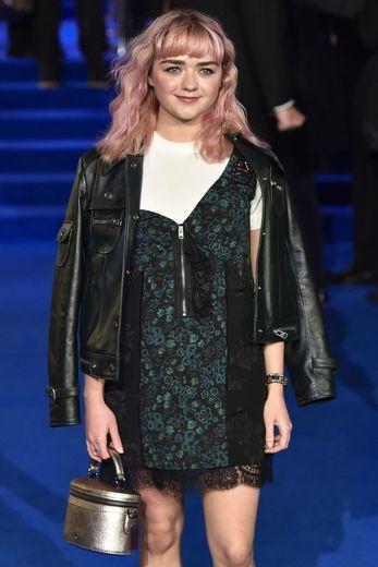 """Maisie Williams a été révélée grâce à """"Game of Thrones"""" sur HBO alors qu'elle avait à peine 14 ans."""