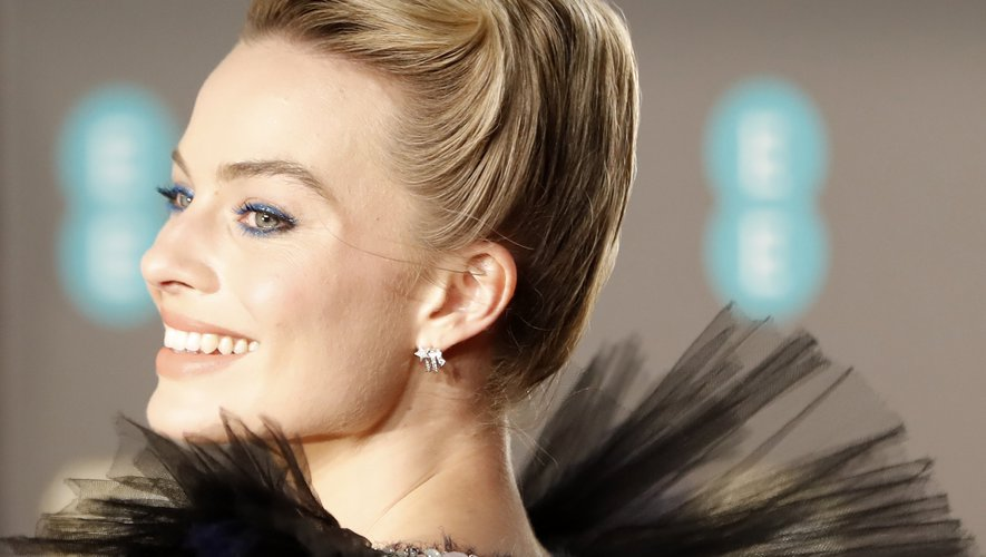 Margot Robbie aux BAFTA.