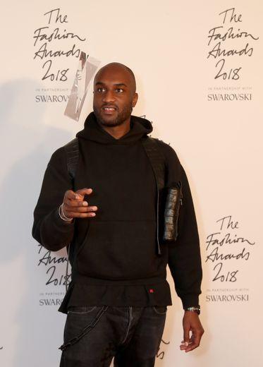 Virgil Abloh aux British Fashion Awards 2018 à Londres le 10 décembre 2018