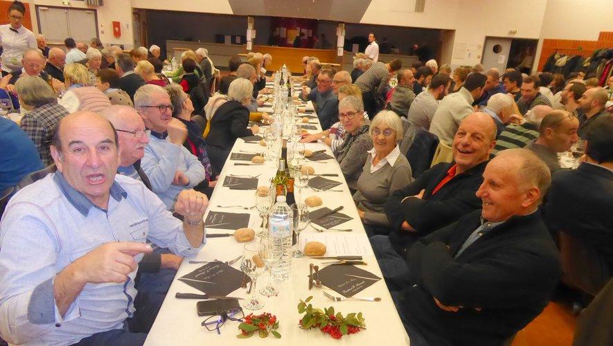 Les participants ont apprécié cette soirée gourmande placée sous le signe de la convivialité.