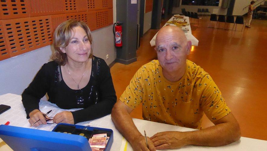 Yamina Chelda, la trésorière et Marco Alet, le président de Rock et Danse.