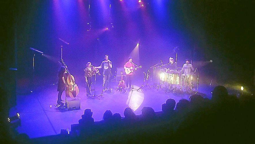 The Angelcy, en concert à la MJC de Rodez.