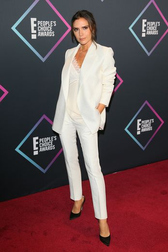 Victoria Beckham au People's Choice Awards 2018 à Santa Monica (Californie), le 11 novembre 2018