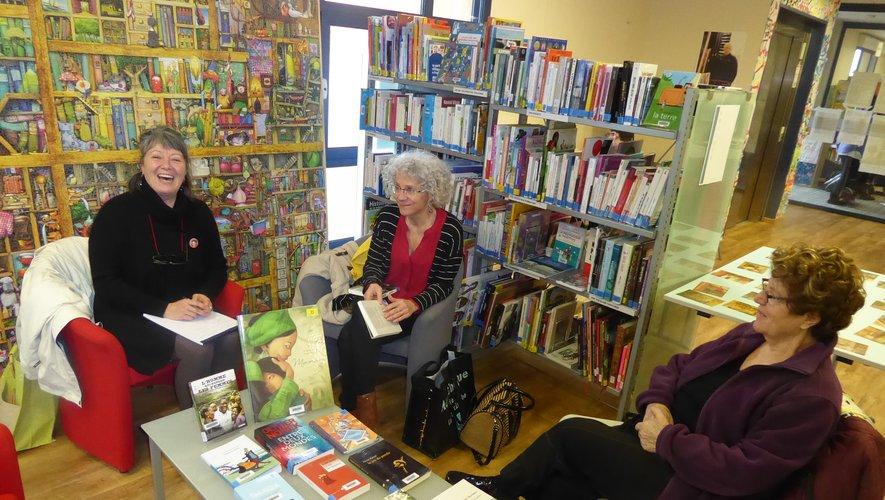 Les lectrices ont échangé avec Florence à propos de leurs lectures.