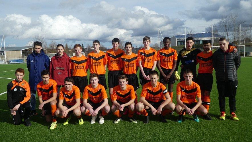 Les U 17 jouaient en coupe de l'Aveyron.