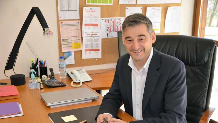 Olivier Pontiès est en poste depuis le début de l'année.