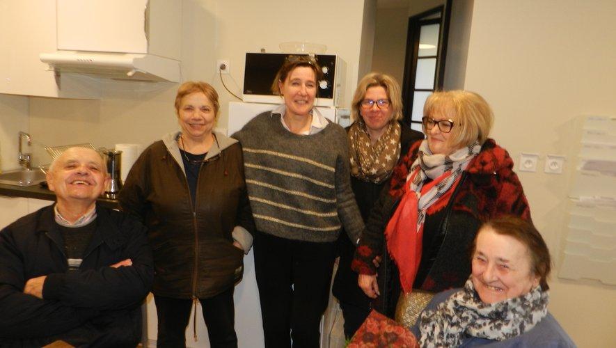 Sandrine Beffre organise cette semaine des portes ouvertes dans ses nouveaux locaux de la place Lescure.Un accueil avec le sourire.