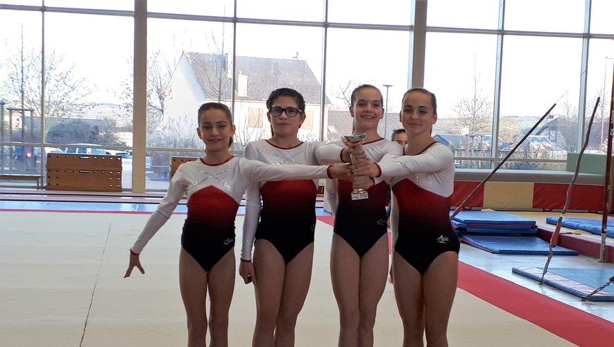 Les gymnastes seront en compétion samedi 16 février à Rodez.