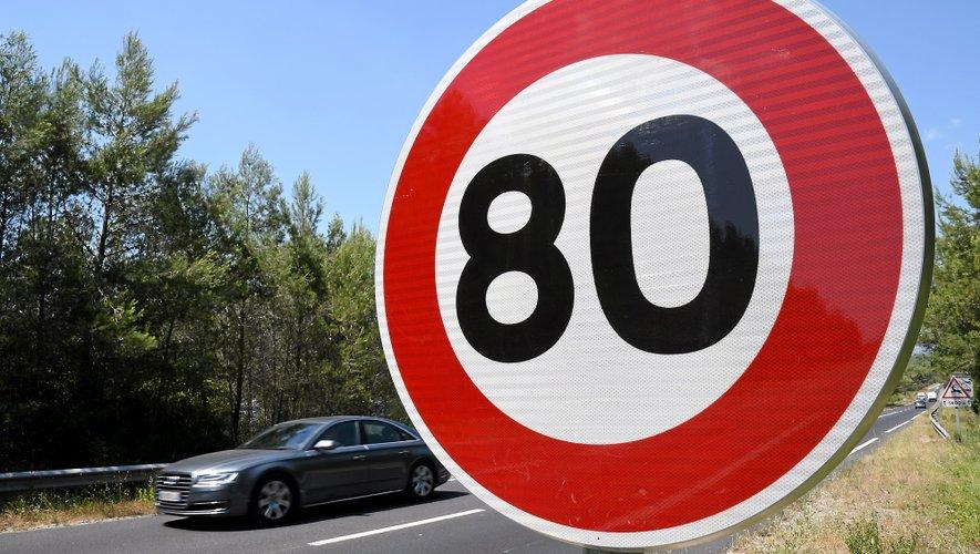 La portion de route était limitée à 80km/h.