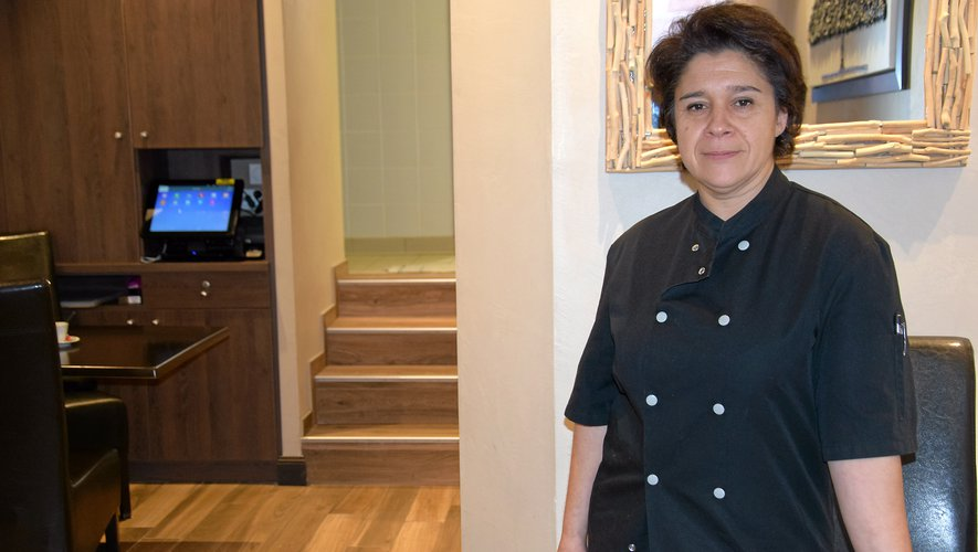 Fatima Alves, la patronne des lieux.