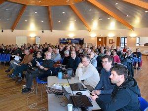 Les membres des associations locales réunis l'an passé à Sébazac.