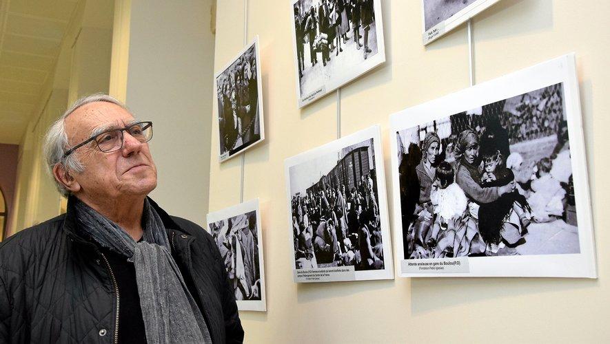 Jean Vaz préside l'association Memoria Andando depuis sa création en 2002.