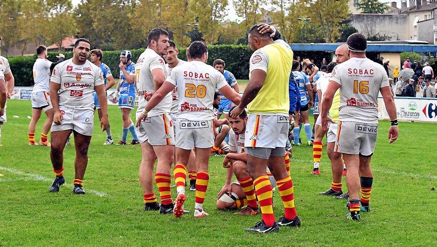 Au match aller le 14 octobre dernier (26-14), les Ruthénois avaient permis aux Gersois de connaître leur premier succès. Une sévère frustration.
