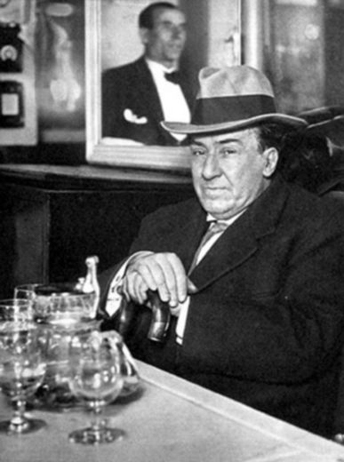 Antonio Machado à Madrid.