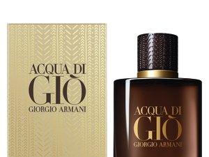 "Le parfum ""Acqua di Giò Absolu Instinct"" de Giorgio Armani."