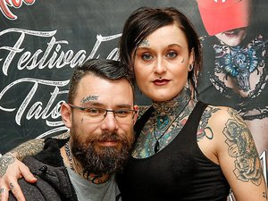 Dam's et Mimiss Tartouille, pierceur et tatoueuse à Decazeville