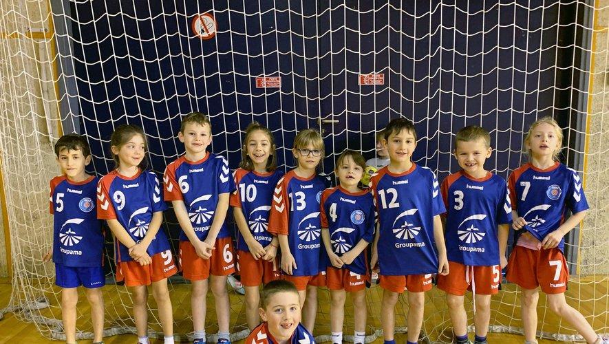 L'école de handball préparel'avenir du club.