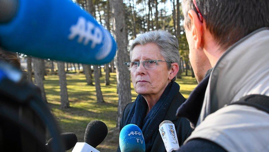 La représentante du gouvernement a souligné l'accueil bienveillant des Aveyronnais.