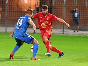 Joris Chougrani de retour contre Dunkerque vendredi soir au stade Paul-Lignon.