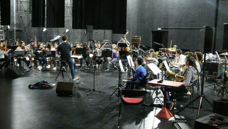 Le Conservatoire  a créé un orchestre symphonique, ouvert aux enfants.