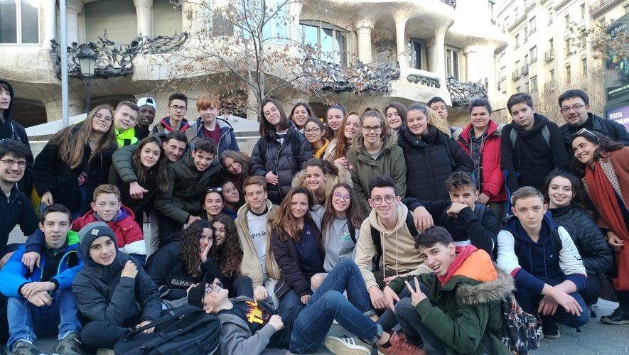 Les collégiens de Saint Viateur-Canaguet en terre catalane