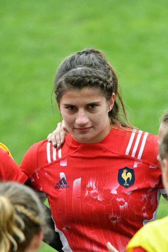 Une nouvelle sélection pour Axelle Berthoumieu, cette fois en moins de 20 ans, qui comble de joie  et de fierté tous ses proches.