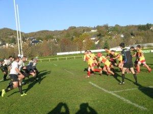 Les rugbymen à l'épreuve de Saint-Jory