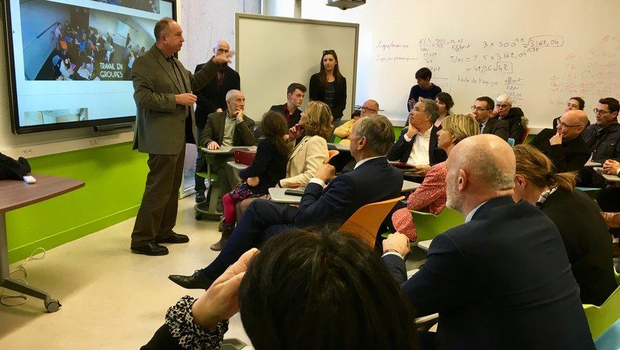 Frédéric Barrios a détaillé le projet aux élus, vendredi.