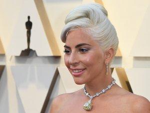 Lady Gaga sur le tapis rouge des Oscars 2019.