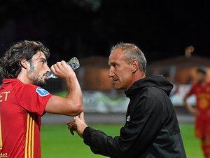 La récupération des Ruthénois (ici Ugo Bonnet avec le coach Laurent Peyrelade) sera déterminante .