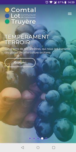 Comtal Lot Truyère se partage en ligne