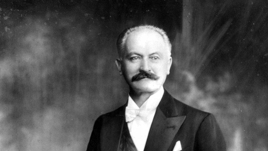 Le président Albert Lebrun.