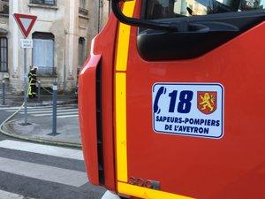 Les sapeurs-pompiers sont intervenus une seconde fois sur la RN88 ce mercredi 27 février.